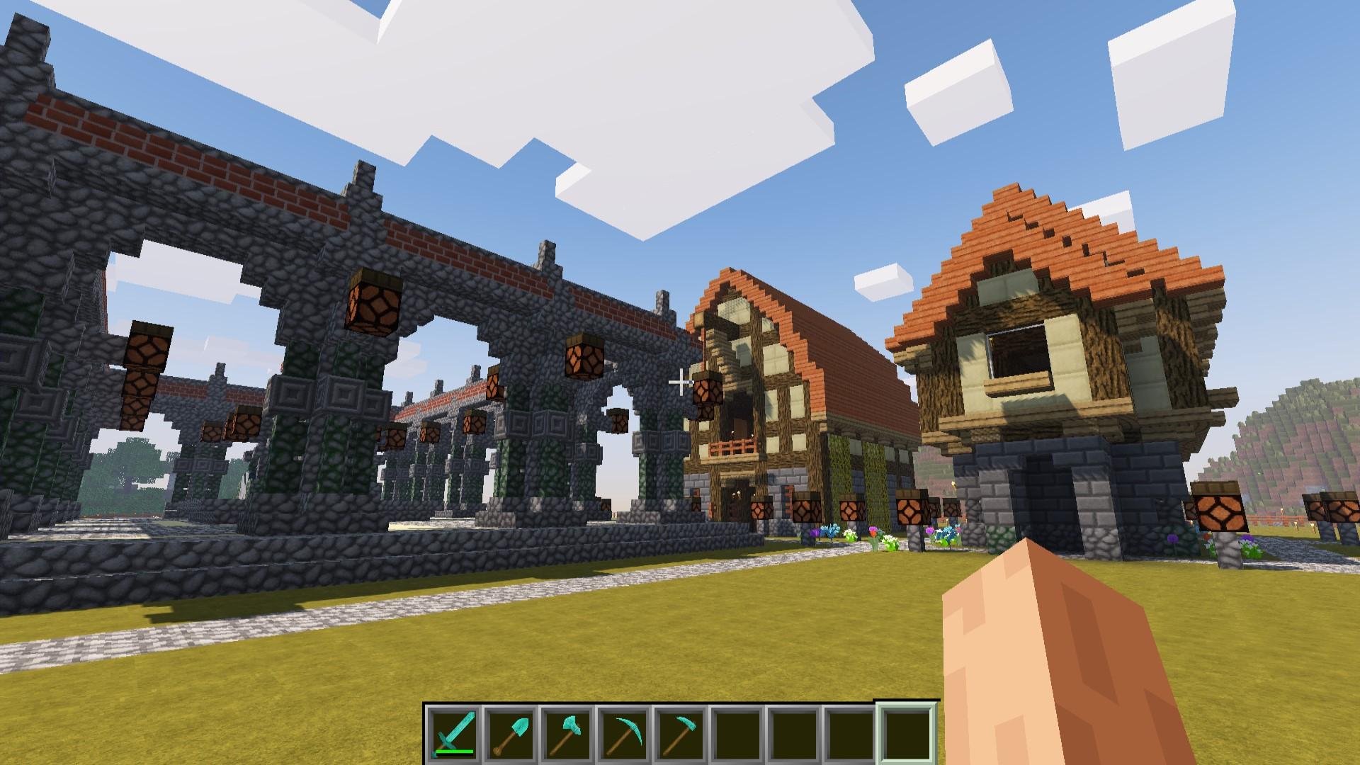 Diesem Video Zeige Ich Euch Minecraft Mainram - Minecraft hexenhauser